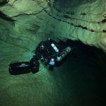 Plongée scooter grotte sidemount et scooter
