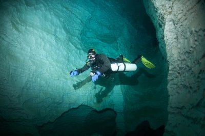 Plongée Grotte Sidemount