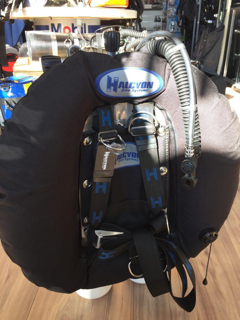 Halcyon cinch quick-adjust harness