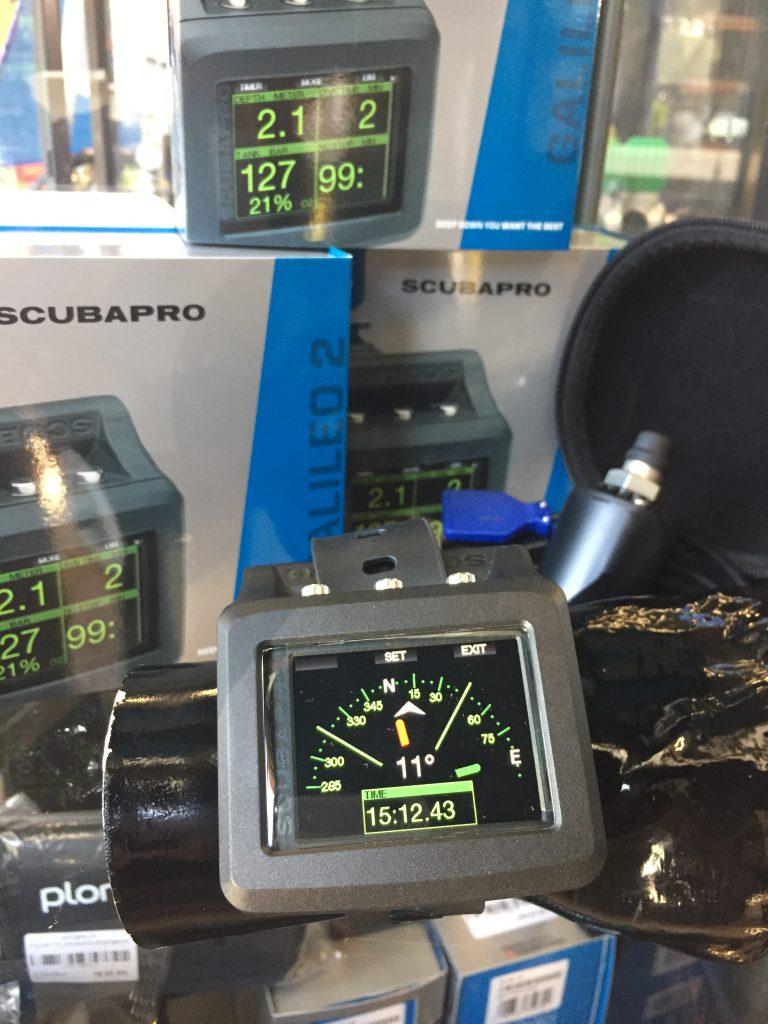 Boussole Du Scubapro Galileo 2 G2 Chez Plongee.ch