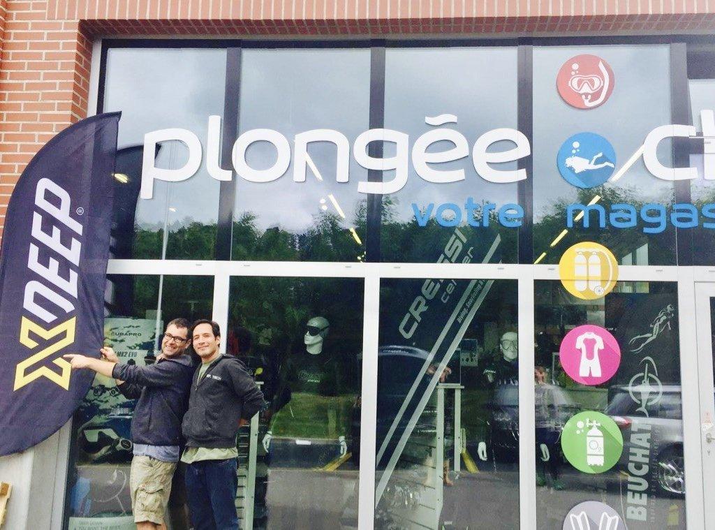 Xdeep Et Le Magasin Plongee.ch