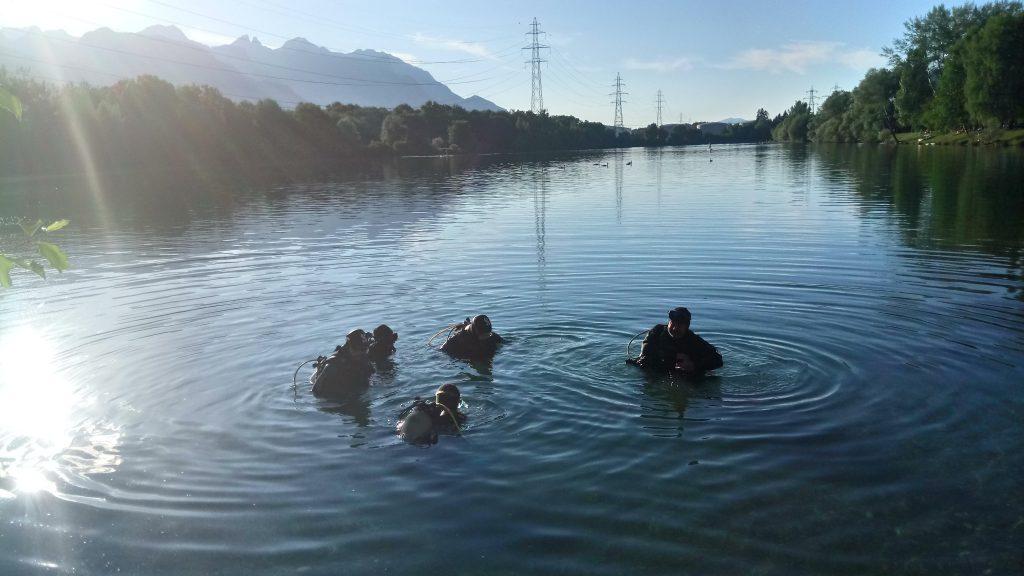 Baptême de plongée au Duzillet