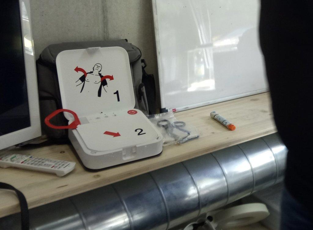 EFR Présentation AED Défibrillateur Plongee.ch