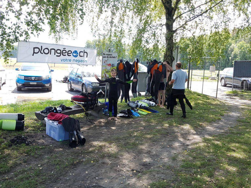 Baptême Et Préparation Plongee.ch