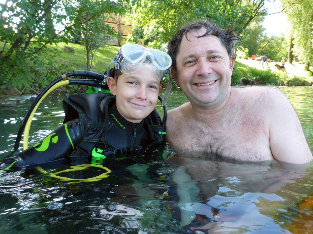 Jeune Plongeur Baptême Plongee.ch