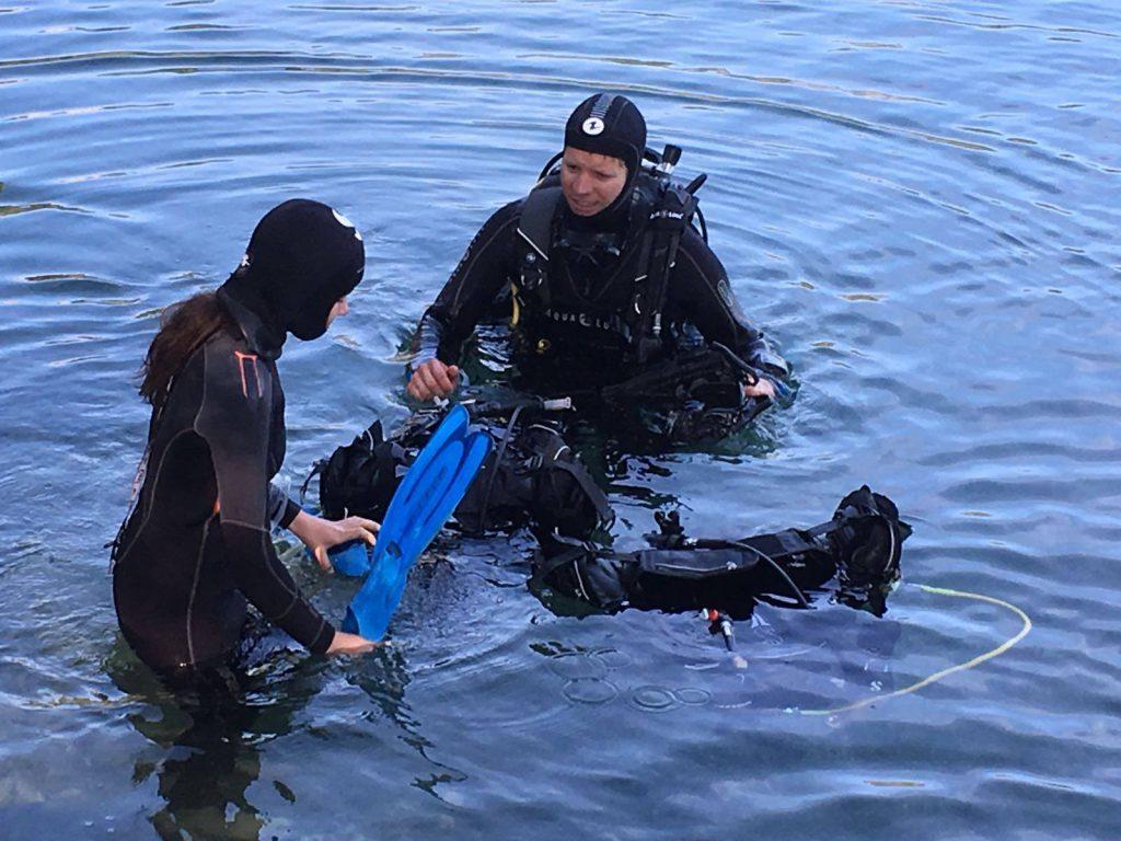 Mise à L'eau Plongee.ch Baptême