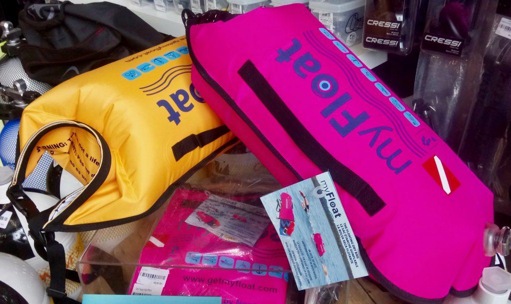 MyFloat sac étanche dry bag en stock plongee.ch