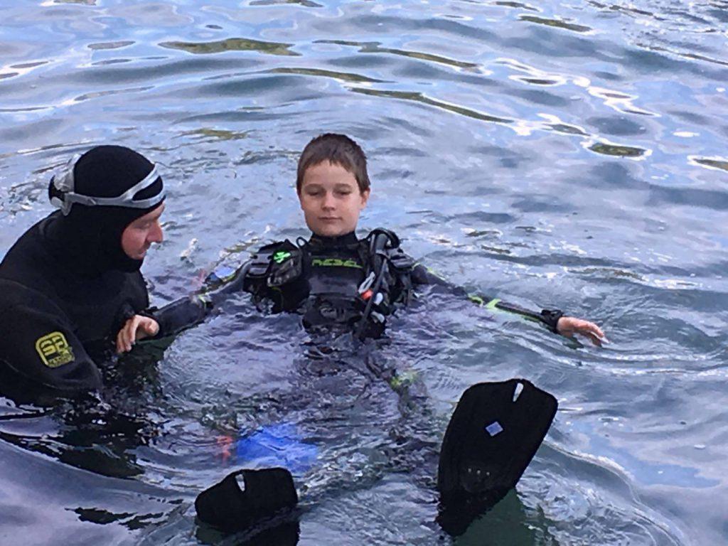 Test De Flottabilité Baptême Plongee.ch