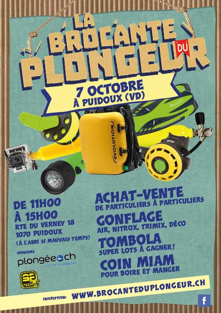 Brocante Du Plongeur Puidoux Plongee.ch