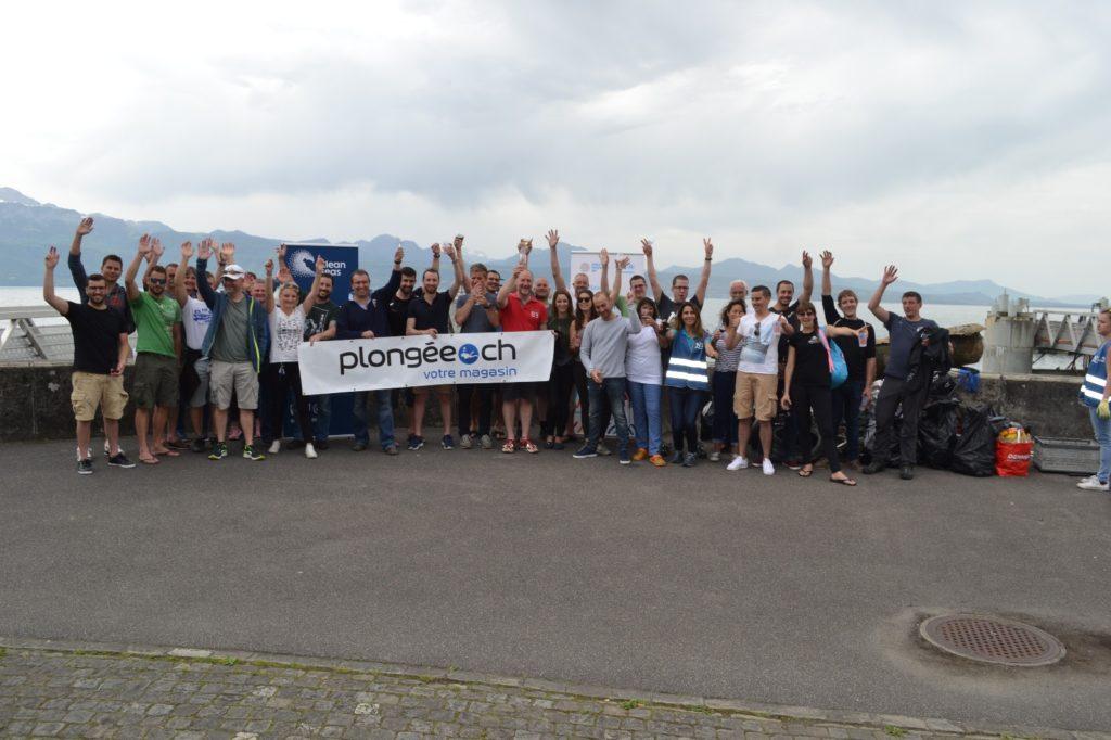 Net Leman Ouchy Lausanne 2018 Plongee.ch