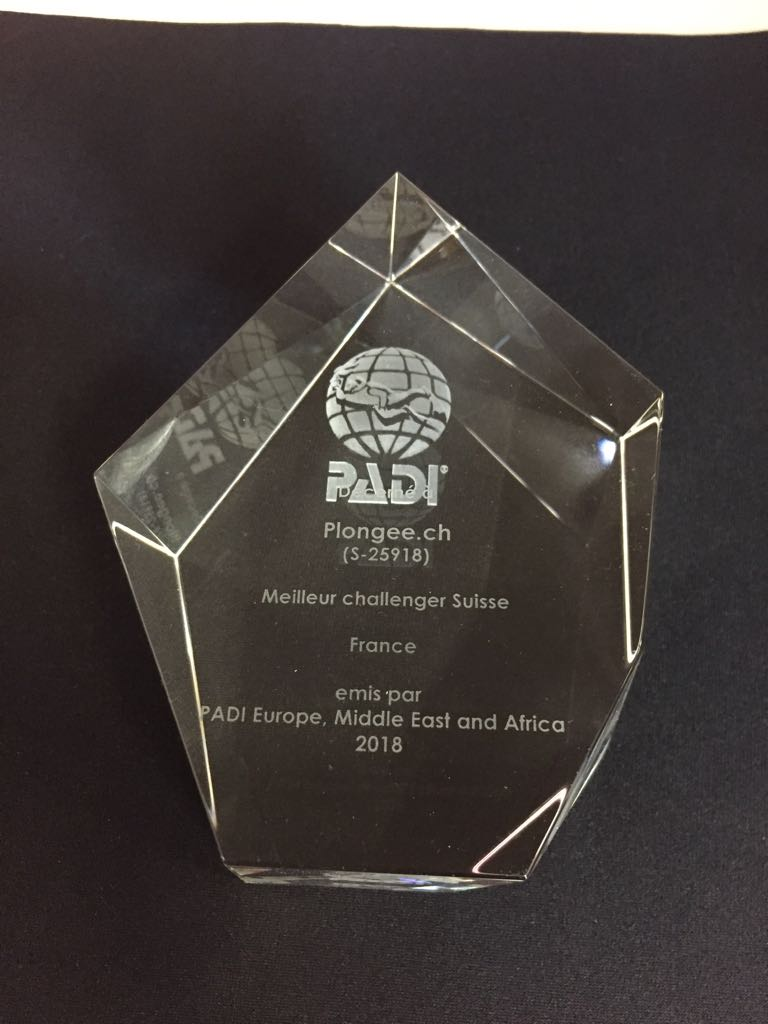 PADI Challenger Award Suisse