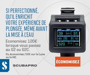 Scubapro plongee.ch échange ordinateur G2 G2C Luna
