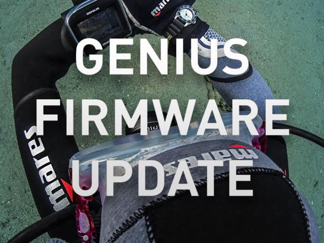 Mares Genius Firmware Update