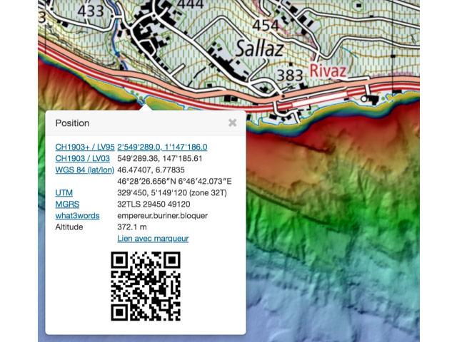Partage De Point GPS Rivaz Minoterie