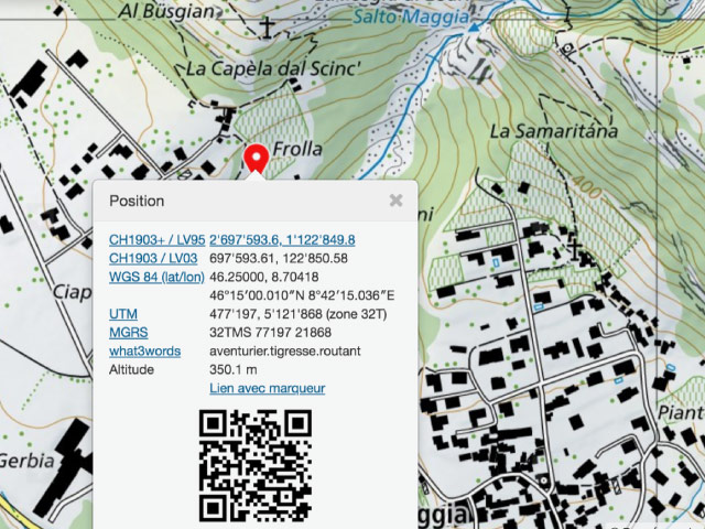 Point GPS Parking Pour Plonger Dans La Cascade Del Salto Tessin