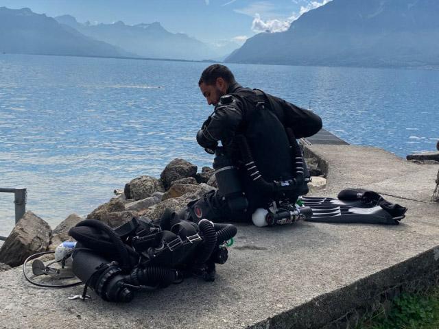 Cours Sidewinder lac Léman