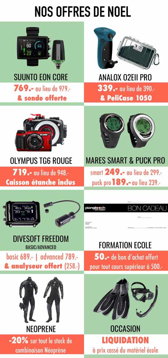 Offre De Noël 2020 Plongee.ch