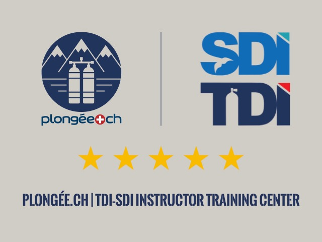 Plongee.ch SDI TDI 5 star Instructor training center