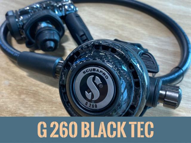 Scubapro 2e étage G260 Black Tech