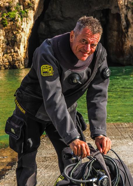 Tom Steiner instructeur de plongée